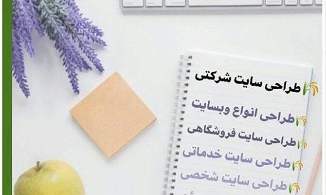 طراحی سایت | طراحی انواع سایت با موضوعات متفاوت