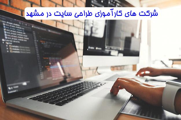 شرکت های کارآموزی طراحی سایت در مشهد